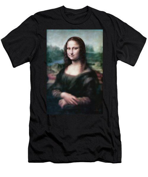 The Dream Of The Mona Lisa Men's T-Shirt (Athletic Fit)