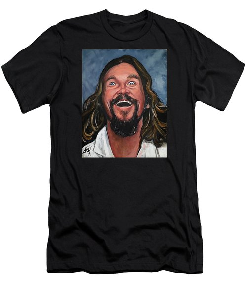 The Dude Men's T-Shirt (Slim Fit) by Tom Carlton