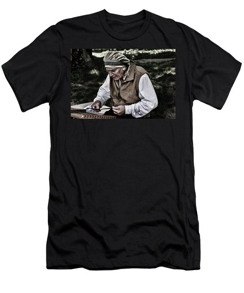 The Dulcimer Man Men's T-Shirt (Athletic Fit)