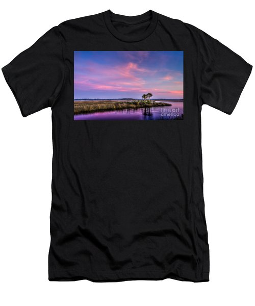 The Edge Of Night Men's T-Shirt (Athletic Fit)