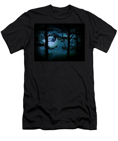 The Edge Of Twilight  Men's T-Shirt (Slim Fit) by Micki Findlay