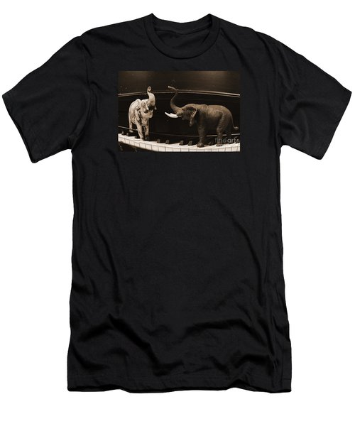The Elephant Walk Men's T-Shirt (Athletic Fit)