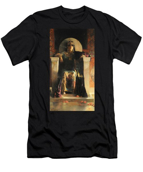 The Empress Theodora Men's T-Shirt (Slim Fit) by Jean-Joseph Benjamin-Constant