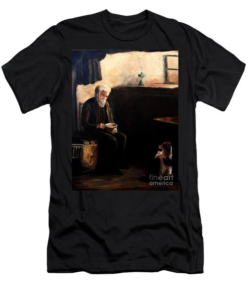 The Evening Meal Men's T-Shirt (Slim Fit) by Hazel Holland