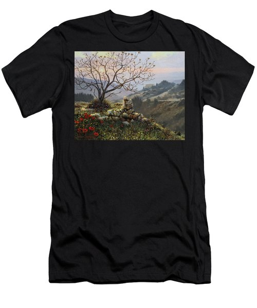 The Fig Tree   Mt Carmel Men's T-Shirt (Athletic Fit)
