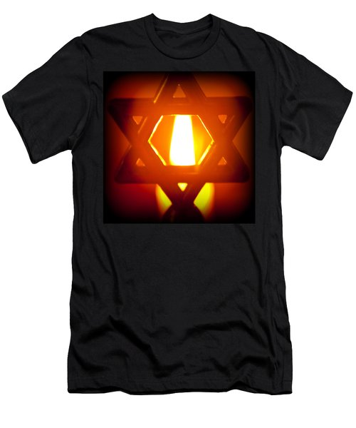 The Fire Within Men's T-Shirt (Slim Fit) by Tikvah's Hope