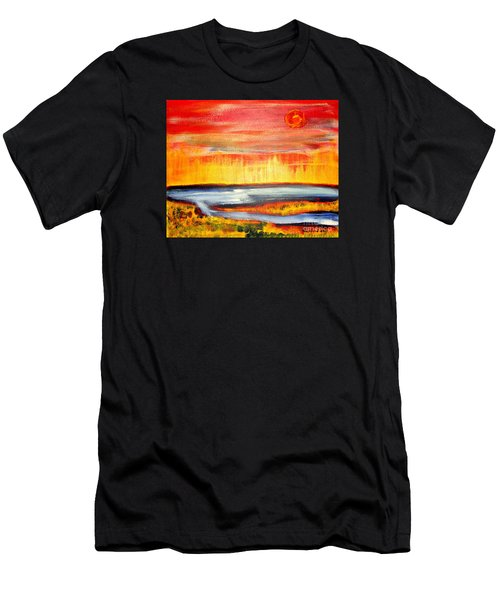 The First Handcart Is Faith Men's T-Shirt (Athletic Fit)