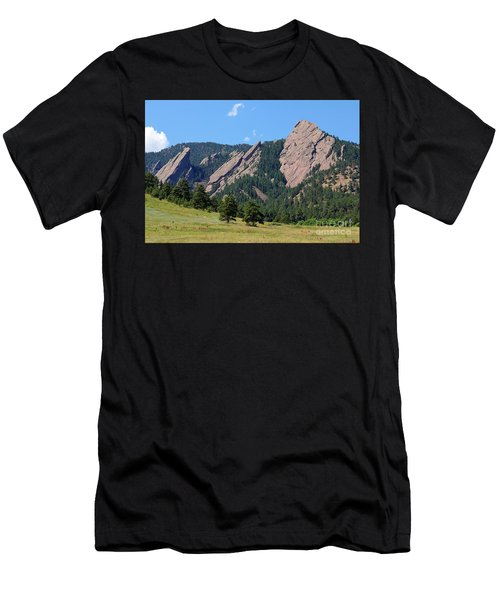 The Flatirons Men's T-Shirt (Athletic Fit)