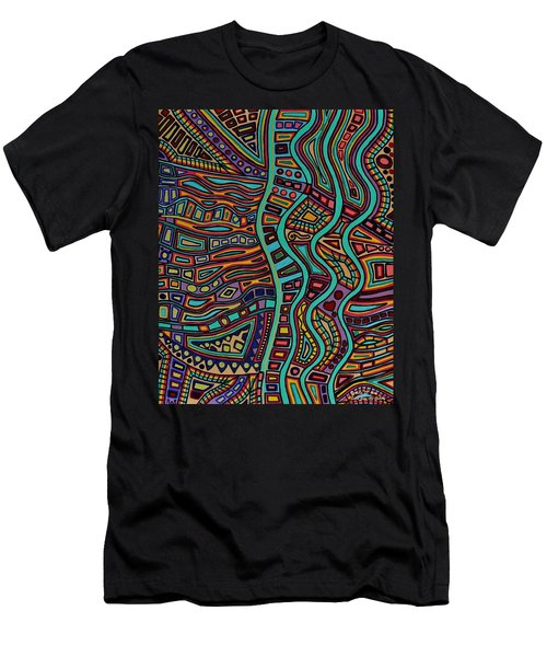 The Flow Men's T-Shirt (Slim Fit) by Barbara St Jean