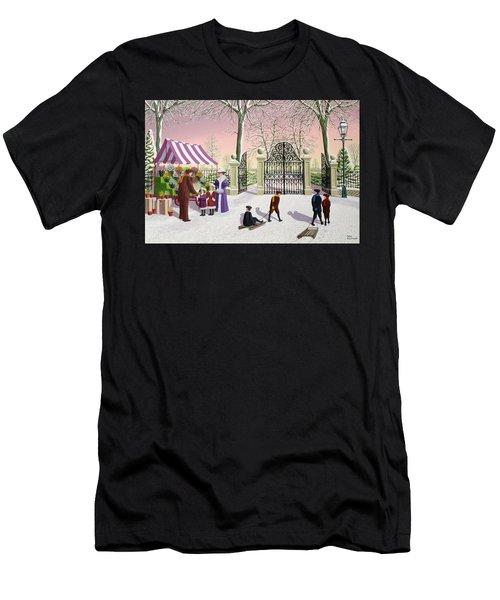 The Flower Man Men's T-Shirt (Athletic Fit)