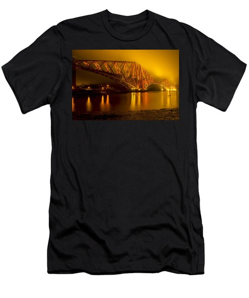 The Forth Bridge From North Queensferry Men's T-Shirt (Athletic Fit)