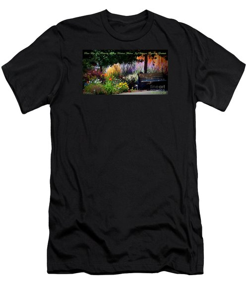 The Garden Of Life Men's T-Shirt (Slim Fit) by Bobbee Rickard