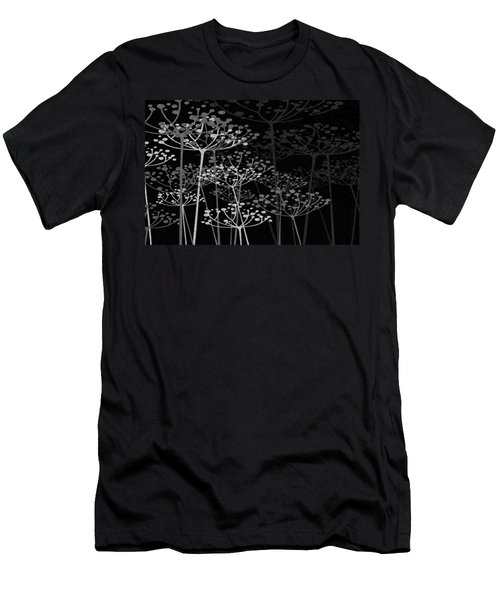 The Garden Of Your Mind Bw Men's T-Shirt (Athletic Fit)