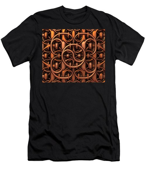 Men's T-Shirt (Slim Fit) featuring the digital art The Gate by Lyle Hatch