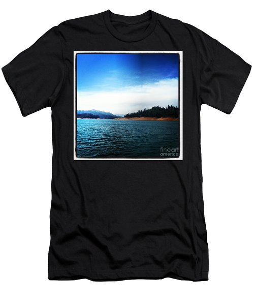 Men's T-Shirt (Slim Fit) featuring the photograph The Getaway by Luther Fine Art