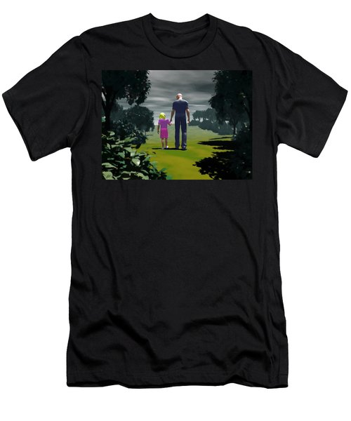 The Gift Of Being 'daddy' Men's T-Shirt (Athletic Fit)