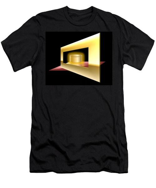 The Golden Can Men's T-Shirt (Slim Fit) by Cyril Maza