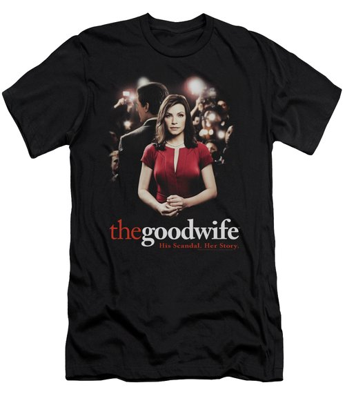 The Good Wife - Bad Press Men's T-Shirt (Athletic Fit)