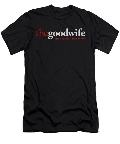 The Good Wife - Logo Men's T-Shirt (Athletic Fit)