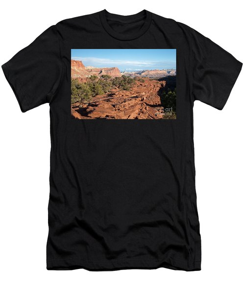 The Goosenecks Capitol Reef National Park Men's T-Shirt (Athletic Fit)