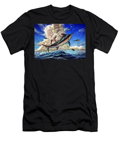 The Grand Challenge  Marlin Men's T-Shirt (Athletic Fit)