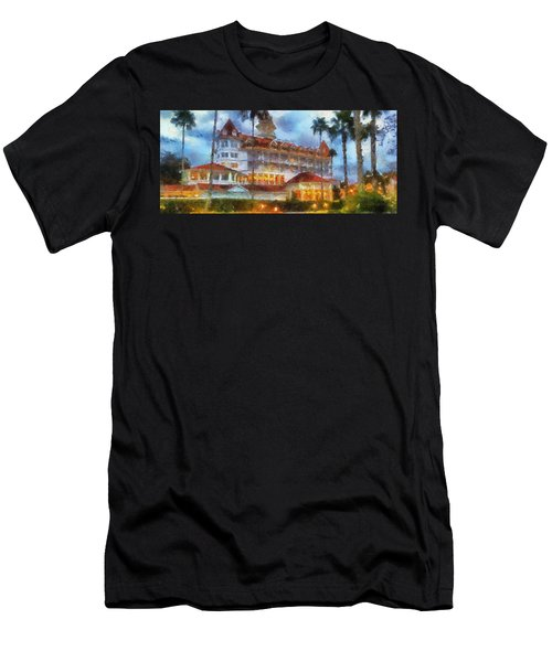 The Grand Floridian Resort Wdw 01 Photo Art Men's T-Shirt (Athletic Fit)