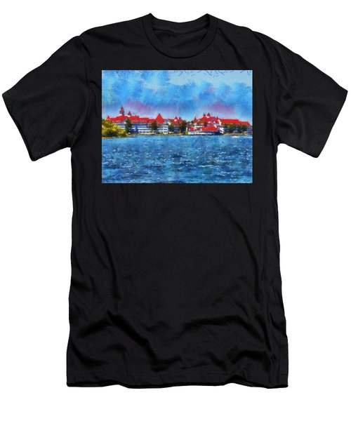 The Grand Floridian Resort Wdw 03 Photo Art Men's T-Shirt (Athletic Fit)