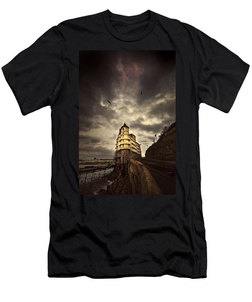 Men's T-Shirt (Slim Fit) featuring the photograph The Grand by Meirion Matthias