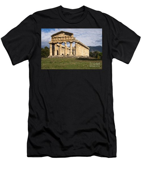The Greek Temple Of Athena Men's T-Shirt (Athletic Fit)