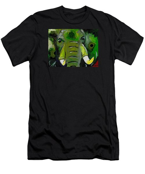 The Green Elephant In The Room Men's T-Shirt (Athletic Fit)