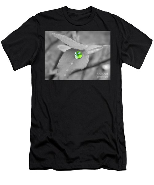 The Green Pearl Men's T-Shirt (Slim Fit) by Patti Whitten