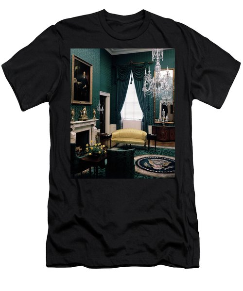 The Green Room In The White House Men's T-Shirt (Athletic Fit)