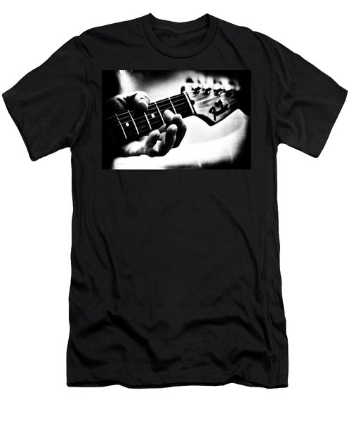 Men's T-Shirt (Athletic Fit) featuring the photograph The Guitar by Bob Orsillo