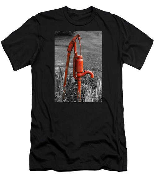The Hand Pump Men's T-Shirt (Athletic Fit)