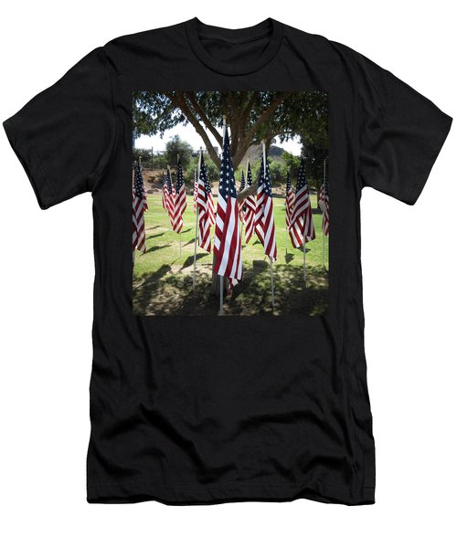 The Healing Field Men's T-Shirt (Athletic Fit)