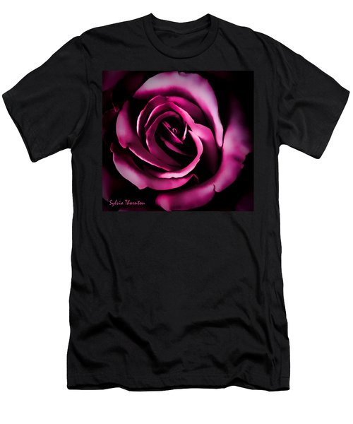The Heart Of A Rose Men's T-Shirt (Athletic Fit)
