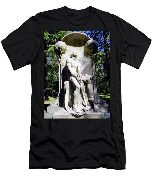 The Henry Villard Memorial Men's T-Shirt (Slim Fit) by Ed Weidman