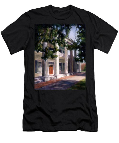 Men's T-Shirt (Slim Fit) featuring the painting The Hermitage by Janet King