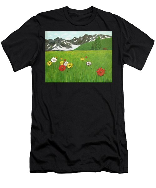 The Hills Are Alive With The Sound Of Music Men's T-Shirt (Athletic Fit)