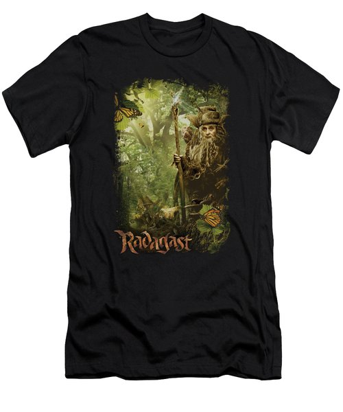 The Hobbit - In The Woods Men's T-Shirt (Athletic Fit)