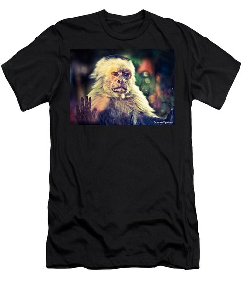 Men's T-Shirt (Athletic Fit) featuring the photograph The Hopeless Ape by Stwayne Keubrick