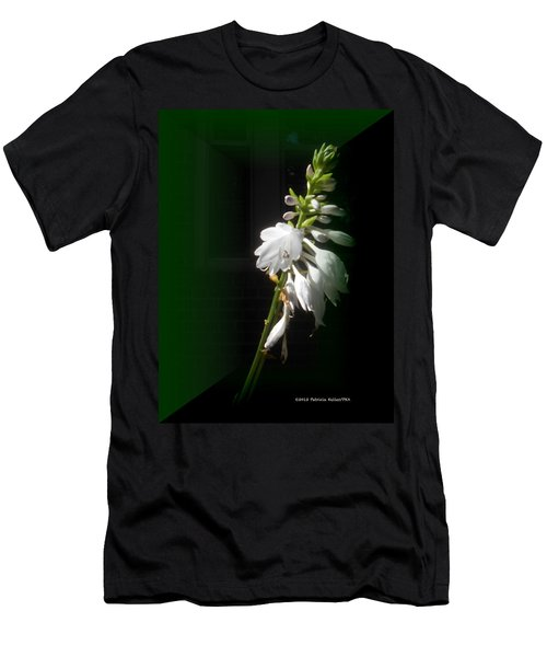 The Hosta Flowers Men's T-Shirt (Athletic Fit)