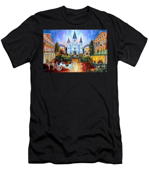 The Hours On Jackson Square Men's T-Shirt (Athletic Fit)