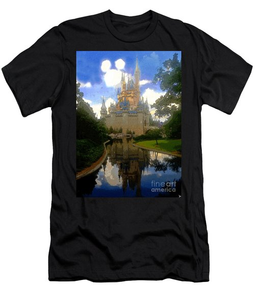 The House Of Cinderella Men's T-Shirt (Slim Fit) by David Lee Thompson