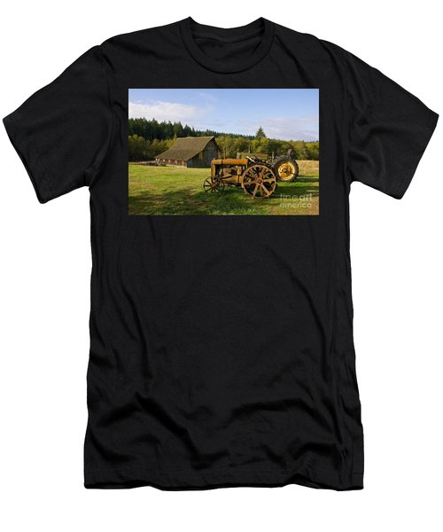 The Johnson Farm Men's T-Shirt (Athletic Fit)