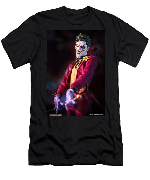 Men's T-Shirt (Athletic Fit) featuring the photograph The Joker Dummy by Stwayne Keubrick