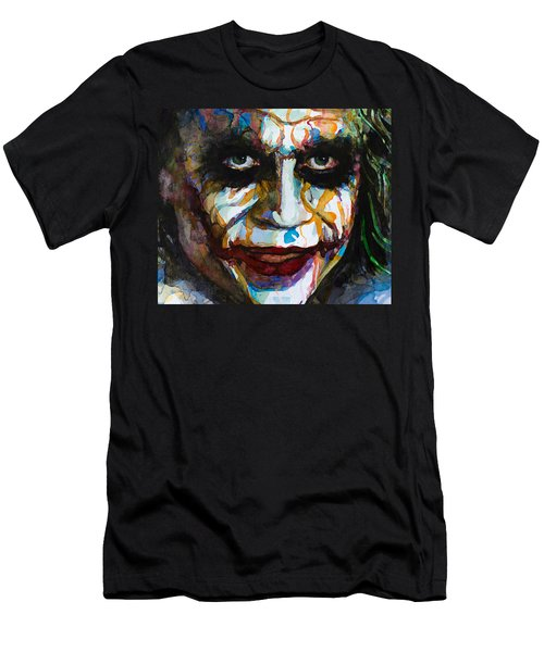 The Joker - Ledger Men's T-Shirt (Slim Fit) by Laur Iduc