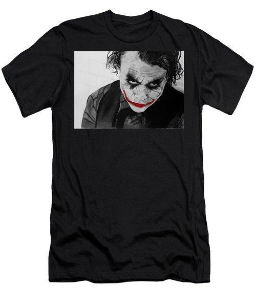The Joker Men's T-Shirt (Slim Fit) by Robert Bateman