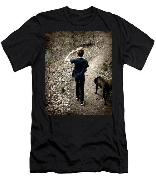 The Journey Together Men's T-Shirt (Slim Fit) by Bruce Carpenter