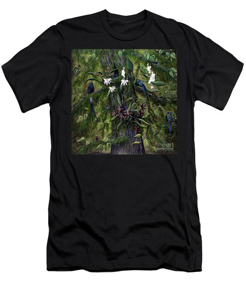 The Jungle Of Guatemala Men's T-Shirt (Athletic Fit)